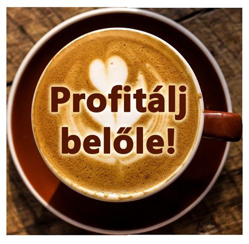 Profitálj a DXN kávéiból!